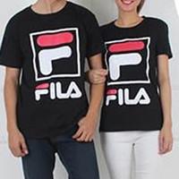 Baju Couple Kaos Couple Oblong Pasangan Soulmate Fila 11144