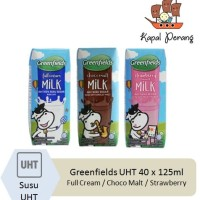 Greenfields UHT 1 karton [40 pcs x 125mL]