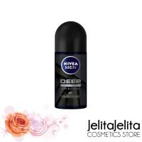 Nivea Men Deep Roll On Antibacterial Deodorant 50ml