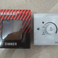 Light Dimmer HIMAWARI & Kontrol Kecepatan Mesin
