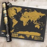 scratch map peta travel dunia