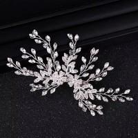 Bride Wedding Hair Accessories AR026 / Headpiece / Aksesoris crystal