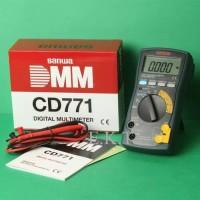 Sanwa CD771 digital multimeter avometer CD 771 multitester Japan