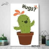 Hiasan Dinding Poster Kayu Quotes Flora Bunga Home Decor Rumah FLW061