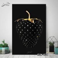 Hiasan Dinding Poster Kayu Quotes Flora Bunga Home Decor Rumah FLW038