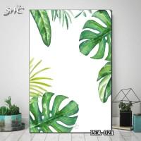 Hiasan Dinding Poster Kayu Quotes Flora Daun Home Decor Rumah LEA-021