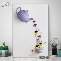 Hiasan Dinding Poster Kayu Quotes Flora Bunga Home Decor Rumah FLW014