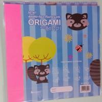 Kertas Lipat Origami 2 Sisi Double Face 14 x 14 25 Lembar