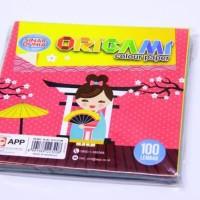 Kertas Lipat Origami Sinar Dunia SIDU 12 x 12 100 Lembar