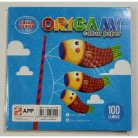 Kertas Lipat Origami Sinar Dunia SIDU 16 x 16 100 Lembar