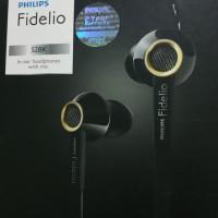 Earphone Philips Fidelio S2 with mic Original