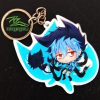 Gantungan Kunci Anime Kuro Sleepy Ash Servamp Chibi Keychain Murah