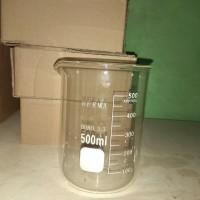 beker glass Herma 500ml