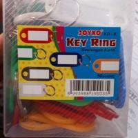 gantungan kunci label KR-9 joyko isi 50pcs