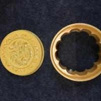 Cetakan Mooncake / Kue Bulan Naga (Bulat 100gr)
