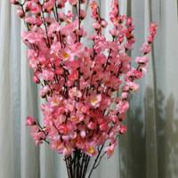 Bunga Sakura Plastik Artificial