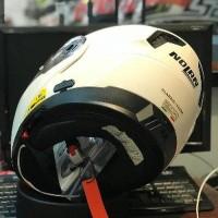 Helm Nolan N104 Classic Metal White BYhel614