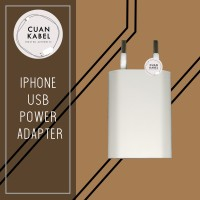 Kepala USB Power Adaptor Charger Iphone Original