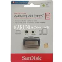 Complete Sandisk Flashdisk Usb 3 Otg Type C 64Gb /Up To 130 Mb/S