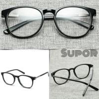 Kacamata Korea FF26 ORIGINAL Black Full Frame Plus Minus Wanita Pria