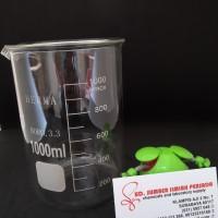 Beaker glass, herma, 1000 ml