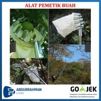 Alat Pemetik Buah Metal Fruit Picker / Alat Bantu Petik Pengambil Buah