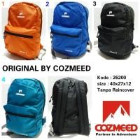Tas sekolah ransel backpack pria cozmeed 26200 murah dan baru