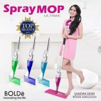 Alat Pel Pembesih Lantai Spray Mop Ultima Bolde 1 Kain