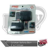 Colokan Safety Belt 2 in 1 Hitam Mobil All New Innova Reborn 2016