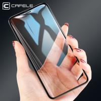 CAFELE iPhone X 4D - Tempered Glass Full Cover Anti Gores Original