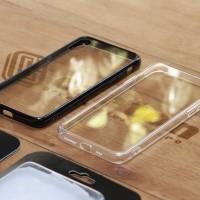 Cafele Case iPhone X & iPhone XS TPU + Tempered Glass Casing