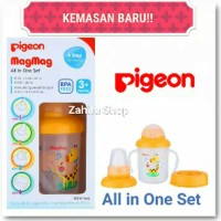 Cangkir Minum Pigeon MagMag All in one set-Training Cup Pigeon Mag Mag