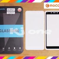 MOCOLO FULL LEM Xiaomi Redmi 6 6A 6X MiA2 Mi A2 Lite Tempered Glass