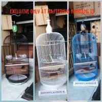 KANDANG BESI MODEL KAPSUL + GELODOK U/ TERNAK BURUNG LOVEBIRD / PARKIT