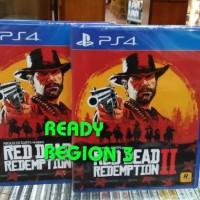 PS4 RED DEAD REDEMPTION II / RDR REGION 3