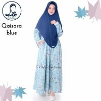 Gamis Qaisara By Syua Collections - Gamis Motif Murah