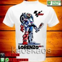 Kaos jorge lorenzo transformers ukuran Anak No.0,1,2