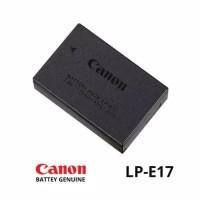 Baterai/Battery Canon LP-E17 For Eos 750D, Rebel T6i, T6S, M3, M5, M6