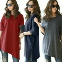 Promo Baju Kaos Bigsize/Kaos Oversize/Kaos Casual Cewek Korea Style