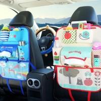 Promo 624 Car Seat Organizer Karakter Ver3 Tas Mobil Multifungsi