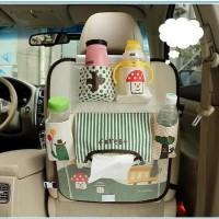 Promo 624 Car Seat Organizer Karakter Ver3 Dgn Aluminum Foil Di Tempat