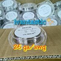 Promo Ss316L 26Ga/Awg By Oumier Wire | Kawat Vape Coil Vapor Rda Rta