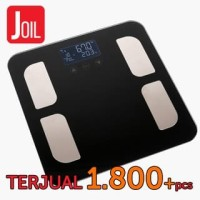 GENUINE! Timbangan Berat Badan Digital + Body Fat Monitor - Elektrik -