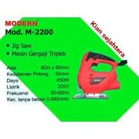 GENUINE! Modern m-2200 new Mesin jigsaw mesin gergaji potong kayu mesi