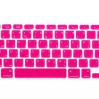 Keyboard Protector Arab Macbook Pro 13 15 17 - layout US - Pink