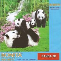 selimut bonita panel uk 160x200 Panda
