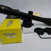 TELESCOPE BSA 4X32 BLACK POWDER