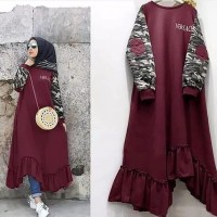 BD New Vercase Tunik Maxi Dress