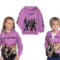 Jaket Hoodie Sweater Anak Unisex BLACKPINK 3D Printed Art 1