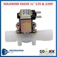 Katup Solenoid Air Elektrik / Water Electric Solenoid Valve 12V & 220V